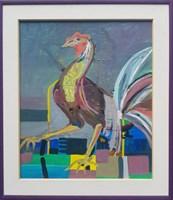 Obraz do salonu artysty Celalettin Kartal pod tytułem Jestem królową