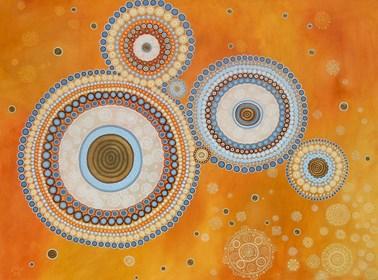 Obraz do salonu artysty Magdalena Tuźnik pod tytułem Praczas