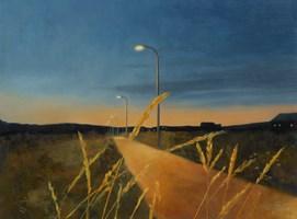 Obraz do salonu artysty Magdalena Tuźnik pod tytułem Letni wieczór