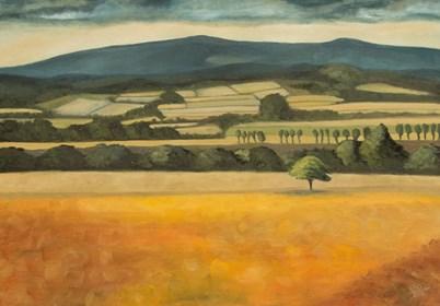 Obraz do salonu artysty Magdalena Tuźnik pod tytułem Letnie łąki