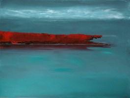 Obraz do salonu artysty Andrzej Cybura pod tytułem Masyw wulkaniczny