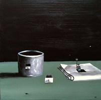 Obraz do salonu artysty Andrzej Cybura pod tytułem Pani domu