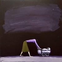 Obraz do salonu artysty Andrzej Cybura pod tytułem MATKA POLKA