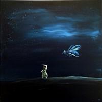 Obraz do salonu artysty Andrzej Cybura pod tytułem Pluja