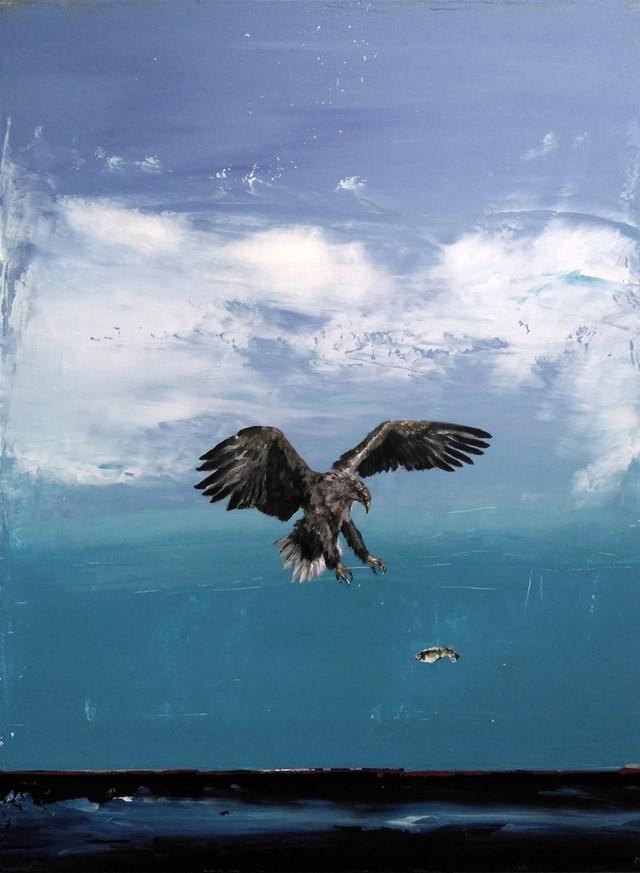 Obraz do salonu artysty Andrzej Cybura pod tytułem Orzeł
