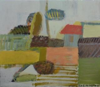 Obraz do salonu artysty Łukasz Breitenbach pod tytułem Wiejski pejzaż