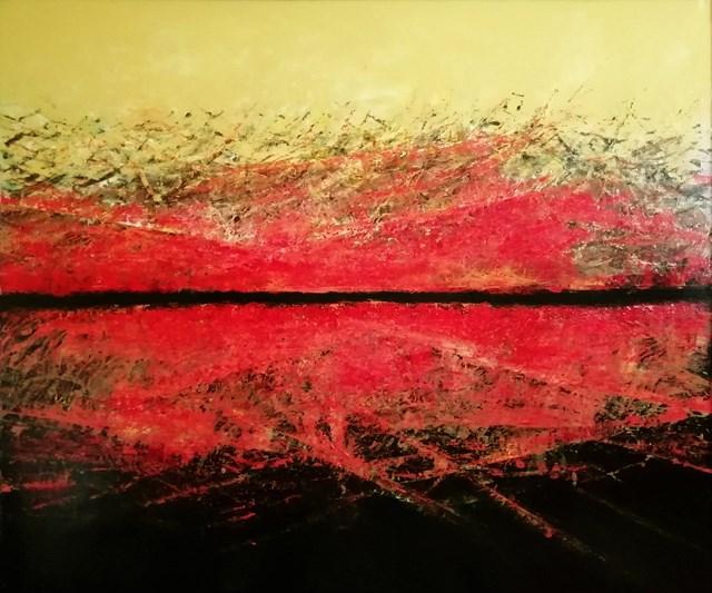 Obraz do salonu artysty Robert Borowski pod tytułem Przesmyk