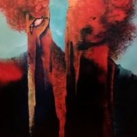 Obraz do salonu artysty Robert Borowski pod tytułem Rozdarcie